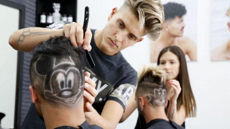 Llegan los tatuajes en el pelo